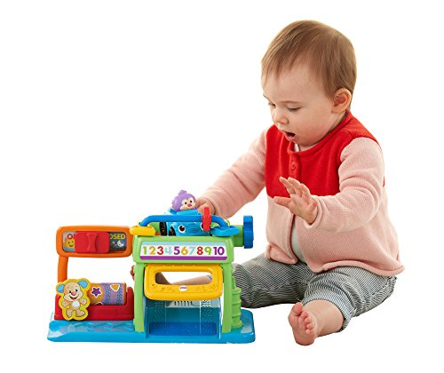 Fisher-Price Laugh & Learn Puppy's Numbers Garage - 1