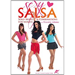 Sexy Salsa: Solo Moves & Combinations for Women