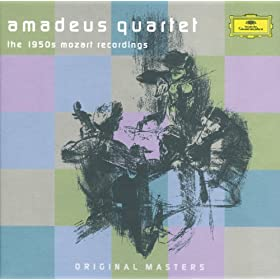 Amadeus Quartet - The 1950s Mozart Recordings (5 CDs)