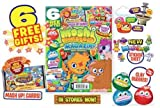 MOSHI MONSTERS MAGAZINE MOSHI MONSTERS MAGAZINE ~ ISSUE 33 ~ 6 FREE GIFTS ~ MOSHI STICKER PACK / PUZZLE BOOK / PARTY STICKERS & MORE