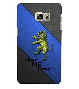 PRINTSWAG LION Designer Back Cover Case for SAMSUNG GALAXY NOTE 5 DUAL