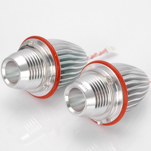 2X High Power 10W 7000K Error Free Cree-Ic Led Aluminum Angel Eyes Halo Ring Marker Light Bulb + Ballast For 2000-2007 Bmw 525I 525Xi 530I 530Xi 540I 545I 550I