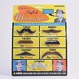 Accoutrements Bwacky Stylish Costume Set Mustaches