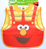 Authentic Sesame Street Elmo Feeding Bib Water Repellent Light