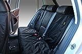 Volkswagen (VW) Tiguan Fully Tailored Waterproof Rear Set Seat Covers 2009 Onwards Heavy Duty Right Hand Drive Black- INK-WSC-1035
