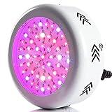 Morsen 150W UFO植物育成LEDライト,AC85-265V,3W*50pcsフルスペクトル,植物育成ライト 水耕栽培ランプ 低消費電力 led植物育成 室内用 室内栽培 日照不足解消 水耕栽培/植物育成
