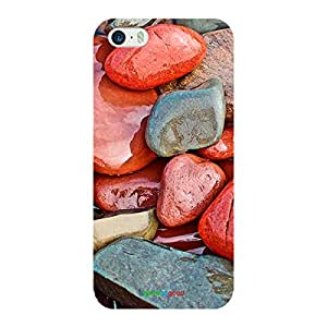 HomeSoGood Rocks On River Side Multicolor Case For iPhone 5 / 5S (Back Cover)