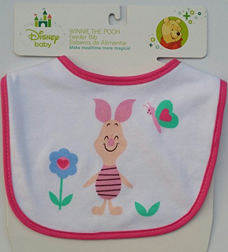 Disney Baby Feeder Bib 1 Pooh, Piglet, 2 Minnie