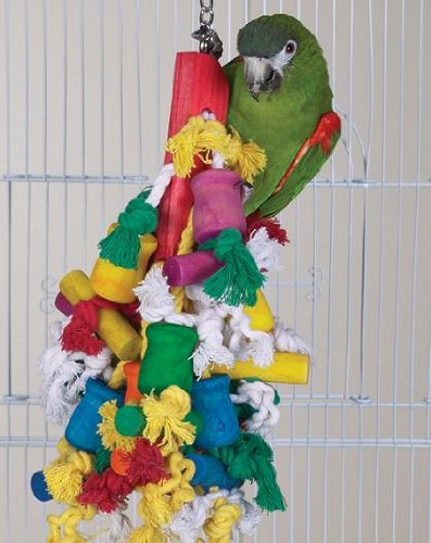 Bird Toy - Wild Series - Madcap Challenge Toy - Great Toy for Medium to Large Birds