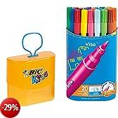 BiC Kids Visa - Penne colorate Confezione da 20