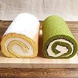 米粉ロールケーキと抹茶ロールケーキセット ギフト[凍]