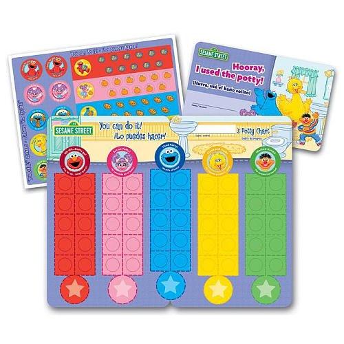 Ginsey Sesame Street Potty Training Rewards Kit