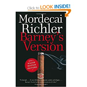 Barney's Version Mordecai Richler and Gregory J. Sinclair