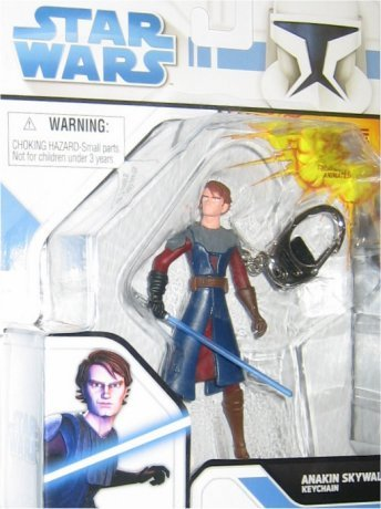 Star Wars Clone Wars Keychain Clone Anakin Skywalker