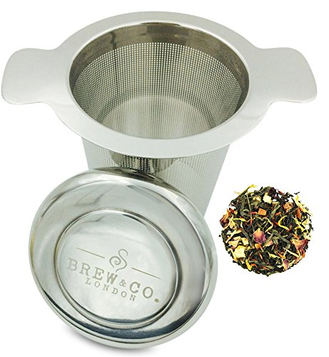 Why Should You Buy Loose Tea Infuser & Steeper (Stainless Steel) - Extra Fine Mesh Tea Filter - Doub...