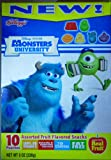 Kellogg's Assorted Fruit Flavored Snacks, Monsters University 8 Oz Box (10 Pouches)