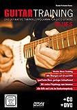 Guitar Training Blues + CD + DVD: Das ultimative Trainingsprogramm für die E-Gitarre