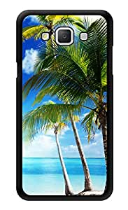 """Humor Gang Beach Coconut Trees Printed Designer Mobile Back Cover For """"Samsung Galaxy A3"""" (3D, Glossy, Premium Quality Snap On Case)"""