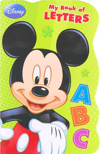 Disney Mickey Mouse® Board Book - My Book of Letters
