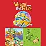 Wheels on the Bus; Old MacDonald Had a Farm; & The Ants Go Marching One by One | Frankie O'Connor