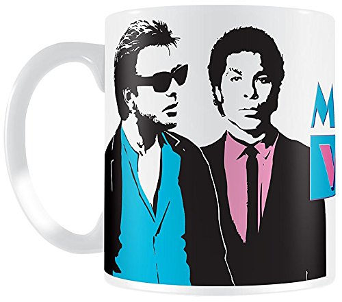 Officially Licensed, Low Cost Miami Vice Crockett & Tubbs Mug Gift