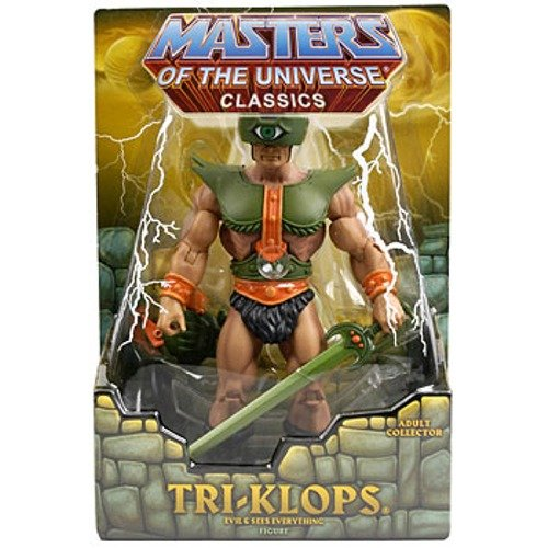 Picture of Mattel He-Man Masters of the Universe Classics Exclusive Action Figure Tri-Klops (B002M5R0L8) (Mattel Action Figures)