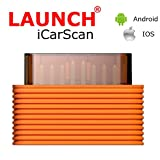 Launch iCarScan Auto Diagnostic Tool OBD OBDII Engine Scanner Full System For Android iOS Obd2 Bluetooth Adapter Replacement of Launch X431 IDIAG Easydiag M-diag For DIY With 8 Software Free