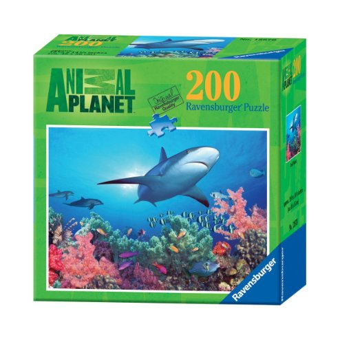 Ravensburger Animal Planet: Reef Shark - 200 Pieces Puzzle - 1
