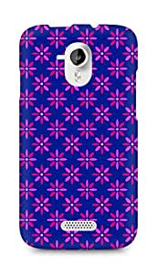 Amez designer printed 3d premium high quality back case cover for Micromax Canvas HD A116 (Flower Pattern1)