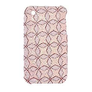 Antislip Glittery Pink Hard Back Case for iPhone 3G
