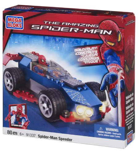 Mega Bloks Spiderman Stealth Speeder Amazon.com