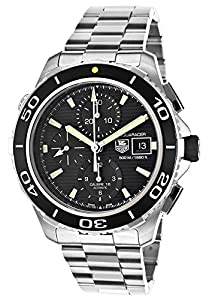 TAG Heuer Men's THCAK2111BA0833 Aqua Racer Analog Display Swiss Automatic Silver Watch