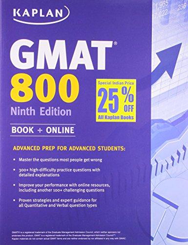 Kaplan GMAT 800 International Edition
