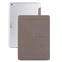 (99MO056902) Moshi iGlaze VersaCover Origami Case with Wake/Sleep Function for The New iPad Air- Gray