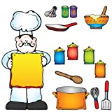 Carson Dellosa D.J. Inkers What s Cooking? Bulletin Board Set (610050)