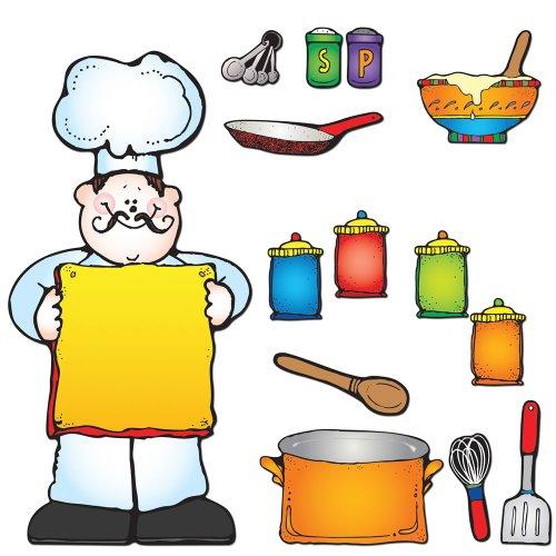 Carson Dellosa D.J. Inkers What's Cooking? Bulletin Board Set (610050) (Recipe Board compare prices)