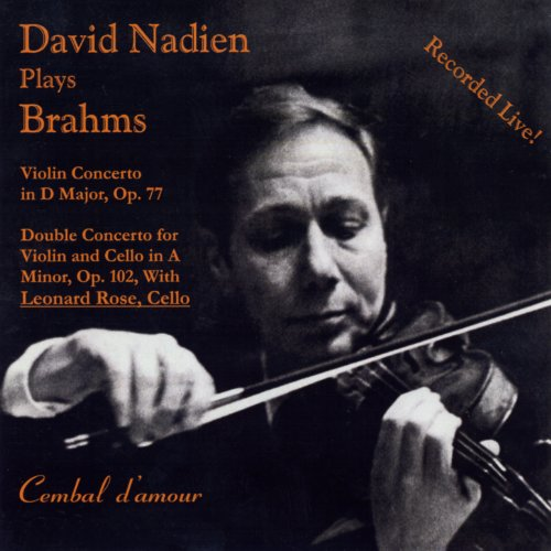 David Nadien Plays Brahms (Seattle Youth Symphony Orchestra compare prices)
