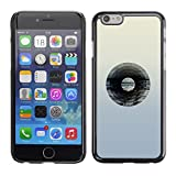 YiPhone Premium Slim Snap Back Case Cover Armor Shell Vinyl Record Music Minimalist Artistic Music Apple iPhone 6 Plus 55