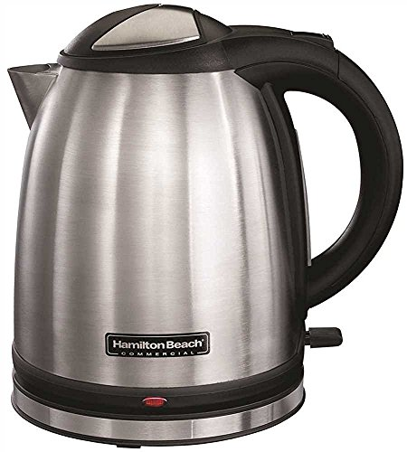 Hamilton Beach HKE100 Stainless Steel 1 L Electric Tea Kettle