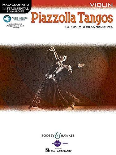 Piazzolla Tangos: Violin (Hal Leonard Instrumental Play-Along)