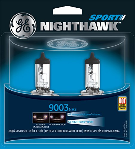 GE 9003 NHS/BP2 Nighthawk Sport Replacement Bulb, (Pack of 2) (2001 Honda Civic Headlight Tint compare prices)