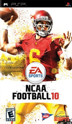 Ncaa Football 10 - Sony Psp front-321219
