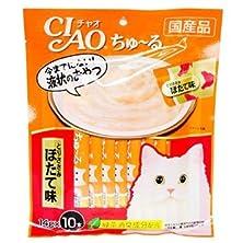 buy 100 Pcs X 14G. (Chicken) Ciao Cat Snack Liquid Cat Gosh Tutsis Kyun (Japan Cat Snack)