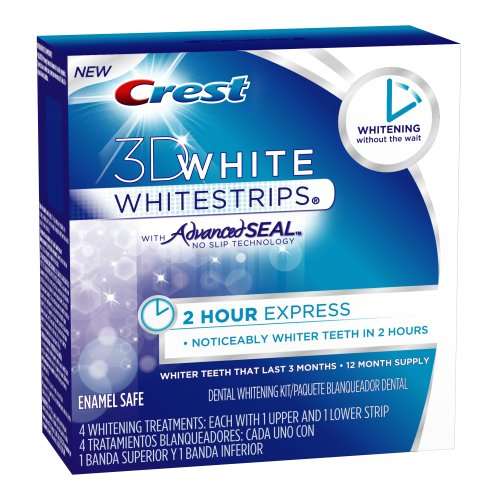 Crest 3D White 2-Hour Express Whitestrips Dental