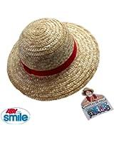 SMIROL003 Abysmile One Piece - Chapeau de paille One Piece Luffy Taille Adulte