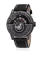Joshua & Sons Reloj de cuarzo Man JX116BK 45 mm