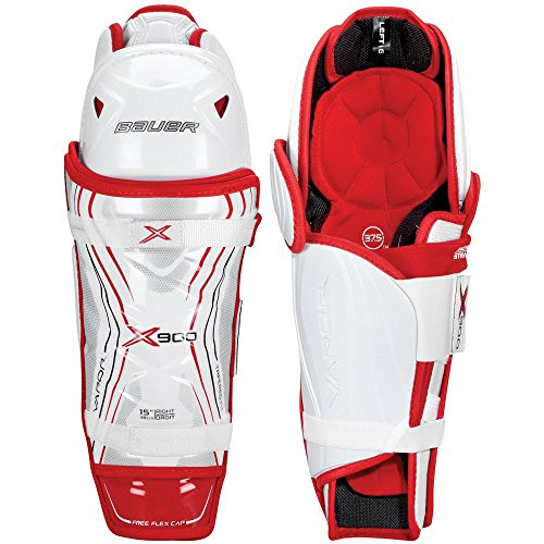 Bauer Vapor X900 Hockey Shin Guards - Senior - 14 Inch (Vapor Shin Guards compare prices)