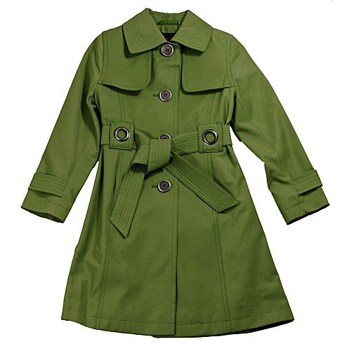 Buy Low Price Rothschild Girls Lightweight Three-quarter Moss Coat, a Girls Coat at Affordable Price