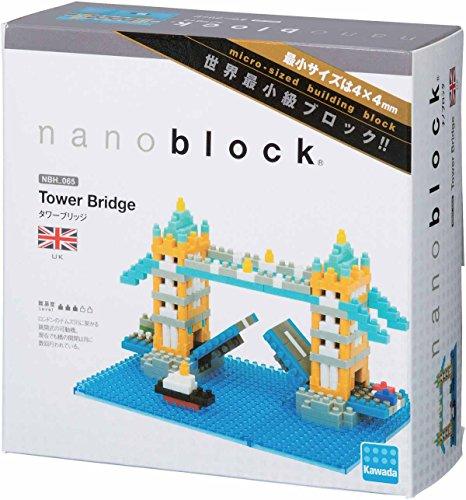 Kawada Nanoblock TOWER BRIDGE London UK Building Kit