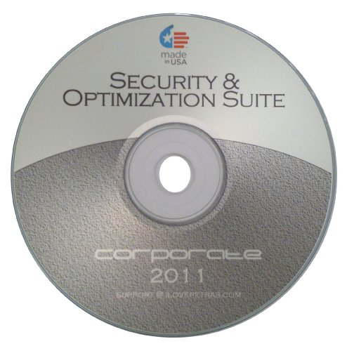 VIRUS REMOVAL ON THE CHEAP- PC Security & Optimization Suite 2011 for Windows 7, Vista, XP, 2000, 98, Ultimate